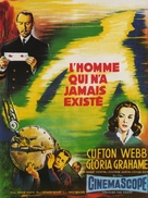 The Man Who Never Was - French Movie Poster (xs thumbnail)