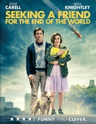 Seeking a Friend for the End of the World - DVD movie cover (xs thumbnail)