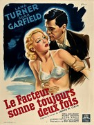 The Postman Always Rings Twice - French Movie Poster (xs thumbnail)