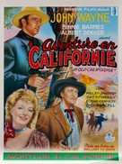 In Old California - Belgian Movie Poster (xs thumbnail)