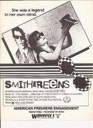 Smithereens - Movie Poster (xs thumbnail)