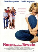 Never Been Kissed - Spanish Movie Poster (xs thumbnail)