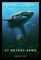 47 Meters Down - British Movie Poster (xs thumbnail)