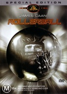 Rollerball - Australian DVD cover (xs thumbnail)