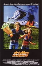 Dirty Mary Crazy Larry - Theatrical poster (xs thumbnail)