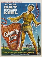 Calamity Jane - Belgian Movie Poster (xs thumbnail)