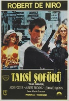 Taxi Driver - Turkish Movie Poster (xs thumbnail)