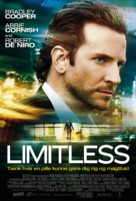 Limitless - Danish Movie Poster (xs thumbnail)