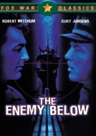 The Enemy Below - DVD cover (xs thumbnail)