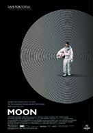 Moon - Greek Movie Poster (xs thumbnail)