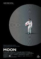 Moon - Greek Movie Poster (xs thumbnail)
