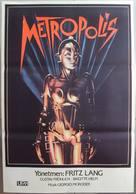Metropolis - Turkish Movie Poster (xs thumbnail)