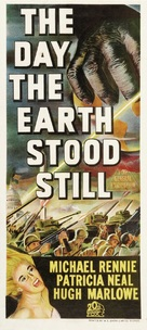 The Day the Earth Stood Still - Australian Movie Poster (xs thumbnail)