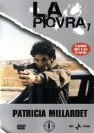 """""""La piovra 7 - Indagine sulla morte del comissario Cattani"""" - Italian DVD cover (xs thumbnail)"""