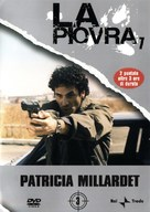 """""""La piovra 7 - Indagine sulla morte del comissario Cattani"""" - Italian DVD movie cover (xs thumbnail)"""