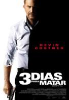 Three Days to Kill - Spanish Movie Poster (xs thumbnail)