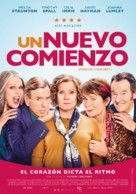 Finding Your Feet - Colombian Movie Poster (xs thumbnail)