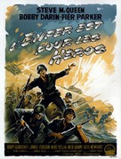 Hell Is for Heroes - French Movie Poster (xs thumbnail)