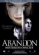 Abandon - Italian Movie Poster (xs thumbnail)