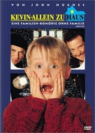 Home Alone - German DVD cover (xs thumbnail)