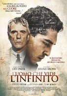 The Man Who Knew Infinity - Italian Movie Poster (xs thumbnail)