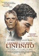 The Man Who Knew Infinity - Italian Movie Poster (xs thumbnail)