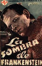 Frankenstein - Spanish Movie Poster (xs thumbnail)