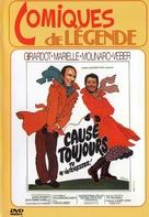 Cause toujours... tu m'intéresses! - French DVD cover (xs thumbnail)