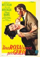 Where Danger Lives - Italian Movie Poster (xs thumbnail)