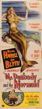 Mr. Peabody and the Mermaid - Movie Poster (xs thumbnail)