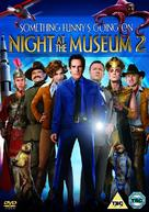Night at the Museum: Battle of the Smithsonian - British DVD movie cover (xs thumbnail)