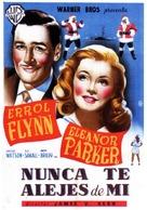 Never Say Goodbye - Spanish Movie Poster (xs thumbnail)