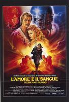 Flesh And Blood - Italian Movie Poster (xs thumbnail)