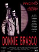 Donnie Brasco - Spanish Movie Poster (xs thumbnail)