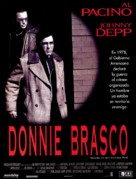Donnie Brasco - Spanish Movie Poster (xs thumbnail)