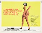 MASH - Theatrical movie poster (xs thumbnail)
