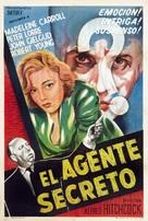Secret Agent - Argentinian Movie Poster (xs thumbnail)