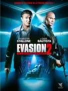 Escape Plan 2: Hades - French DVD cover (xs thumbnail)