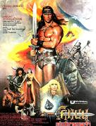 Conan The Destroyer - Thai Movie Poster (xs thumbnail)