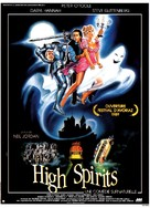 High Spirits - French Movie Poster (xs thumbnail)