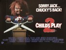 Child's Play 2 - British Movie Poster (xs thumbnail)