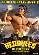 Hercules In New York - Danish Movie Cover (xs thumbnail)