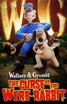 Wallace & Gromit in The Curse of the Were-Rabbit - DVD cover (xs thumbnail)