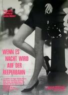 Wenn es Nacht wird auf der Reeperbahn - German Movie Poster (xs thumbnail)