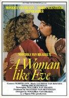 Vrouw als Eva, Een - Dutch Movie Poster (xs thumbnail)