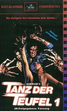 The Evil Dead - German VHS movie cover (xs thumbnail)