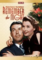 Remember the Night - DVD cover (xs thumbnail)