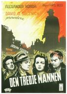 The Third Man - Swedish Movie Poster (xs thumbnail)