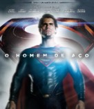 Man of Steel - Brazilian Blu-Ray cover (xs thumbnail)