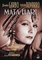 Mata Hari - Polish DVD cover (xs thumbnail)